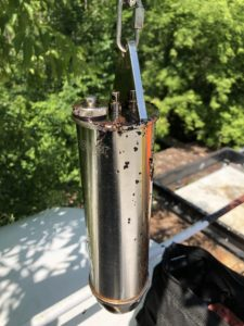 fuel sample - corrosion